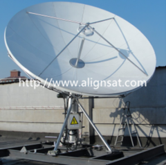 Alignsat 4.5M Earth Station Antenna