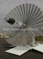 Alignsat 4.2m Ultra-Portable Rib Deployable Military Vehicle Antenna
