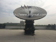 Alignsat 6.2m Ultra-Portable Rib Deployable Military Vehicle Antenna